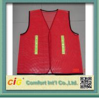 Buy cheap Red / Green Road Security Reflective Safety Jacket warning vest Road Maintenance Worker product