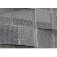 Buy cheap Corrosion Resistance Decorative Perforated Metal , Decorative Sheet Metal Panels Kinetic Facade Waves product