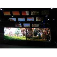 Buy cheap Large Curved LED Screen with Win 8 System 10 Points LED Backlight from wholesalers