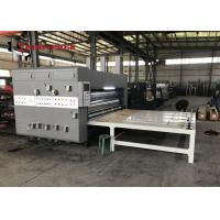 Buy cheap Chain type Flexo Printer Slotter Machine from wholesalers