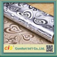 Buy cheap Embossed Design Plastic PVC Table Cloth Flora Pattern Waterproof product