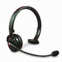 Quality Bluetooth Stereo Headset with 10m Distance and 280mAh Li-ion Rechargeable for sale