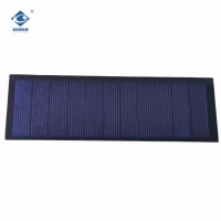 Buy cheap 5.5V thin film solar panel for home power solar system ZW-14045-P transparent solar panel 0.8W product