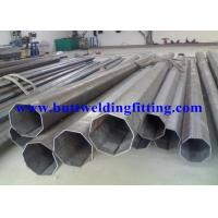 Round 2205 Duplex Stainless Steel Tubing ASTM A790 Galvanized Steel Pipe