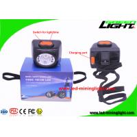 Buy cheap Wireless LED Coal Mining Lights , LED Mining Cap Lamp For Underground Tunneling from wholesalers