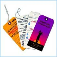 Buy cheap jeans hang tags label with embossed style product