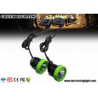 Buy cheap Explosion - Proof Corded Mining Cap Lamp 5W 50000lux Rechargeable LED Mining Headlamp product