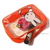 Buy cheap Cute Miffy PVC Cosmetic Bag Heat Sealed Make Up Purse With Beautiful Printing product