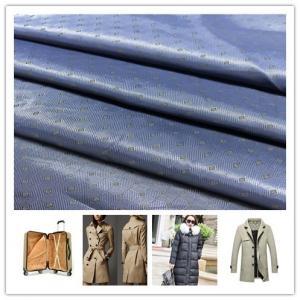 Buy cheap Geometric Pattern Anti Static Lining Fabric , Anti - Tear Lining Polyester Fabric product
