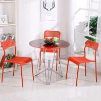 Buy cheap Living Room Round Glass Top Dining Room Tables 2 Chairs Set Home Kitchen Furniture product