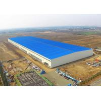 China Steel Structure Warehouse Building Construction Large Span Easy Assemble on sale
