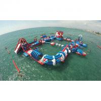Buy cheap Commercial Grade Inflatable Water Parks with 3 Years Warranty product