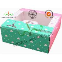 Buy cheap Cardboard Christmas Gift Packaging Boxes , Candy / Chocolate Packaging Boxes product