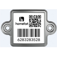 Buy cheap LPG Trackable Caustic Soda Resistance QR Asset Tags product