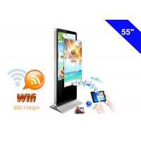 China WIFI Digital Signage Full HD Advertising LCD Display Kiosk with USB Memory card on sale