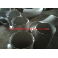 Buy cheap Stainless Steel Tee ASTM A234 GR WPB , ST37.2 , ST35.8Din 1.4301 , 1.4306 , 1.4401 , 1.457 product