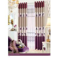 Buy cheap Custom Polyester Lace Contemporary Ready Made Curtains Insulated Blackout Window Curtain product