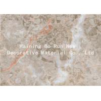 Buy cheap Home Wall Decor Adhesive Vinyl Film , Marble Effect Plastic Sheet Smoke Proof product