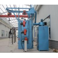 China Spinner Hanger Shot Blasting Machines , Blast Cleaning Machine Compact Structure on sale