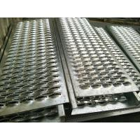 Buy cheap Crocodile Mouth Hole Shaped Perforated Anti Skid Steel Plate For Floor / Stairs product