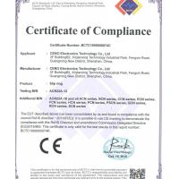 CENO Electronics Technology Co.,Ltd Certifications