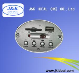China JK6832 For Mini speaker USB SD MP3 player panel on sale