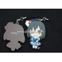 Buy cheap Japanese anime pvc rubber pendants custom for phone bag keychains product