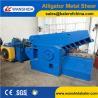 Buy cheap Wanshida Q43-1600 Hydraulic Metal Shear/Alligator Shear Scrap Shearing machine from wholesalers