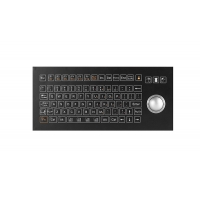 Buy cheap IP67 Industrial Membrane Keyboard With Omron Switch Optical Trackball from wholesalers