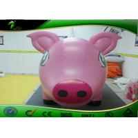 Buy cheap Lovely Inflatable Cartoon Characters 3m Long Pink Inflatable Pig For Advertising product