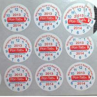 Buy cheap Special Broken Ultra Tamper Proof Stickers , Irremovable Security Seal Stickers product