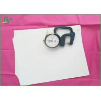 Buy cheap Recycled Uncoated White Bond Paper Offset Printing With 95%-98% Brightness product