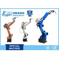 Buy cheap Industrial 6 Axis Automatic MIG Welding Robot  for Welding  Sheet Metal Cabinet product