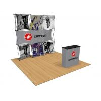 Buy cheap Exhibition Wall Pop Up Banner Stands Backdrop Aluminum Plastic Material product