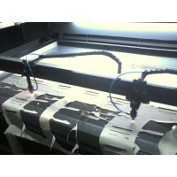 Buy cheap Double Heads Fabric Cutting Equipment  , Laser Cutting Machine For Textile & Garment product