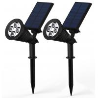 Buy cheap Adjustable Led Solar Powered Motion Sensor Light For Outdoor Garden Lawn product