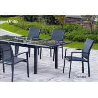Buy cheap Outdoor Garden Patio Table Set For Dinning , Garden Furniture Table And Chairs from wholesalers