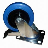 Buy cheap Elastic Rubber Caster with Nylon Core and Roller Bearing product