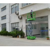 Buy cheap 5.9m Mini Electrical Mobile Self Propelled Scissor Lift with 240Kg Loading Capacity product