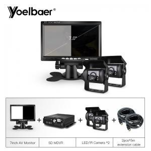 Buy cheap School Bus Trucks Mobile Dvr Camera Systems Anti Vibration Multi Code Stream product