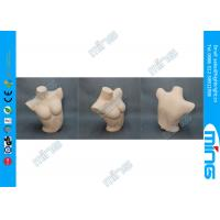 Buy cheap PC Skin Female Body Form Mannequin with Smooth Surface , Half-Body Style product