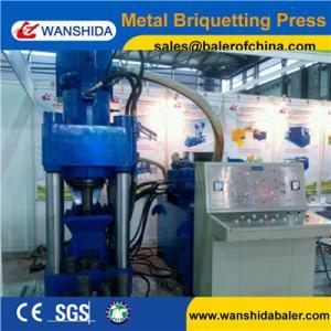 Buy cheap Aluminum Metal Chips Briquetting Press machine product