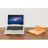 Buy cheap Durable Laptop Stand Smoothly Treated Cooling Wooden Surface Built In Air Breathing Slots product