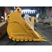 Buy cheap Yellow Heavy Duty Excavator Bucket High Durability Superior Performance from wholesalers