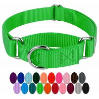 Buy cheap Heavy Duty Soft Nylon Dog Collar , Metal Buckle Dog Collar 21 Colors Option product