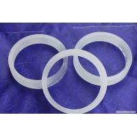 Buy cheap Frost High Purity Quartz Rings Fused Silica Hoop For Industry Lab from wholesalers
