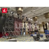 China Flexible Layer Truss , 6061 - T6 Aluminium Slab Form Work Install Lighting Scaffolding For Line Array on sale