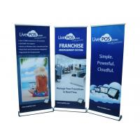 Buy cheap Blue Color Printed Roll Up Banners With High Quality Metal Base product