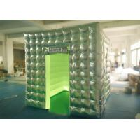 Buy cheap Silver Oxford Portable Photo Booth Logo Printed OEM / OEDM Accepted product