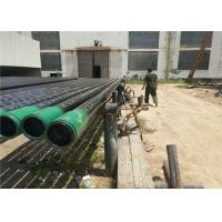 Buy cheap Thickness Wall Carbon Steel Pipes And Tubes SCH 40 With Plastic / Steel Ring product